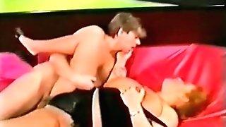 Crimson Couch Romp With Georgina