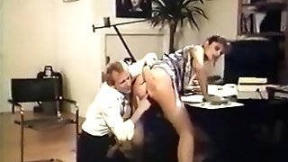 Chief Gets Fucked In Stockings And STILETTOS