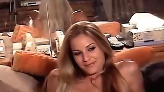 Horny Blonde Chick Fucked In Antique Pornography