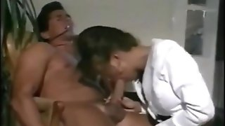 Porn Industry Star Ashlyn Gere Deep-throats And Fucks Peter North