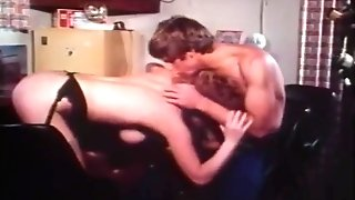 Horny Red-haired Gets Titty Fucked On The Bar