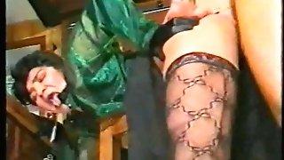 Ass-fuck Fever 1990 Lesbos , Ass-fuck ,Belt cock , DOUBLE PENETRATION, Stockings