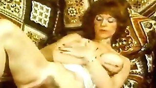 Patty Roesch Touches Her Hairy Puss