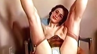 Exotic Homemade Movie With Stockings, Black-haired Scenes