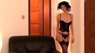 Lena Cova In Stockings Having Hookup Ass-fuck And Slit