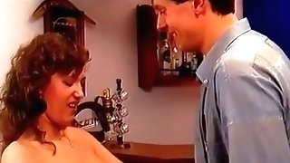 Stockinged Retro German Honey Fucked In 3some