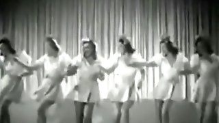 Sexy Hot Retro Stunners Dance Viontage Ballet